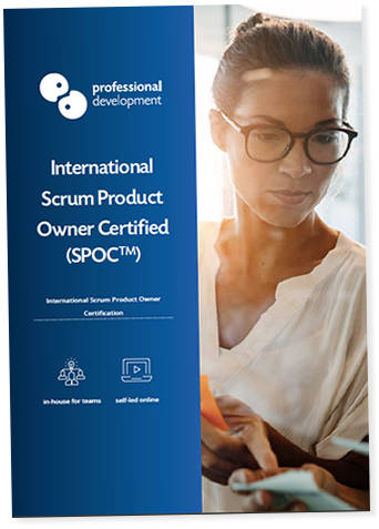 Scrum Product Owner Certified Course Brochure